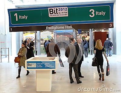 BIT, International Tourism Exchange Editorial Image