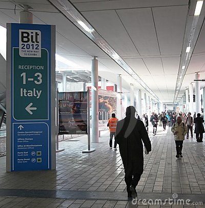 BIT, International Tourism Exchange Royalty Free Stock Photography - Image: 23400757