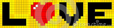 8-bit Pixel Love