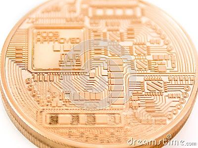 Bitcoin Editorial Stock Image