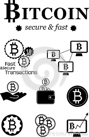 Bitcoin design elements