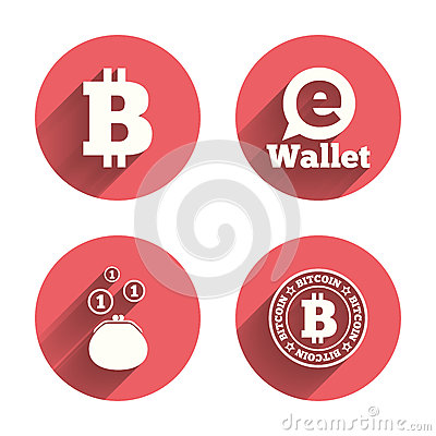 Stock Vector: Bitcoin icons. Electronic wallet symbolBitcoin Icons. Electronic Wallet Symbol Stock Vector - Image: 61041083Bitcoin icons. Electronic wallet symbol - 웹