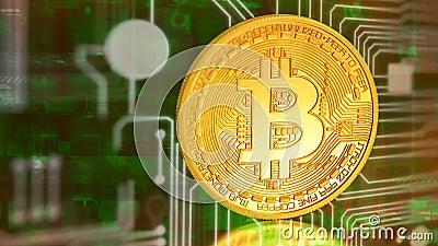 Bitcoin - pièce de monnaie BTC de peu le nouvel argent virtuel