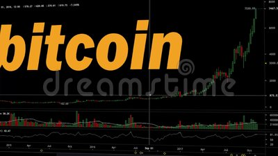 Bitcoin in time stock video. Video of hologram, target ...