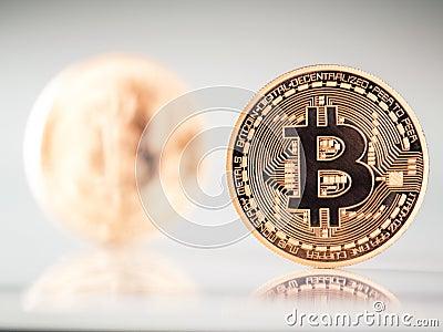 Bitcoins Editorial Image