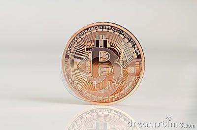 Bitcoins Editorial Photography