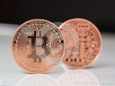 Bitcoins Editorial Image