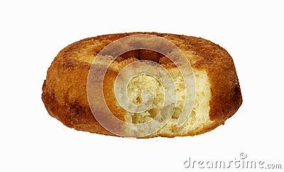 Bite of Plain Donut