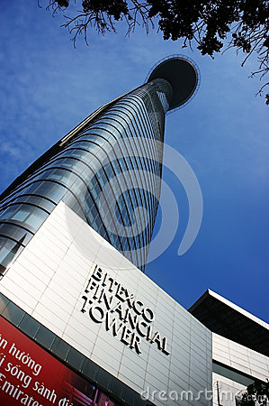 Free Bitexco Financial Tower ( Lotus Tower) Stock Images - 35912664
