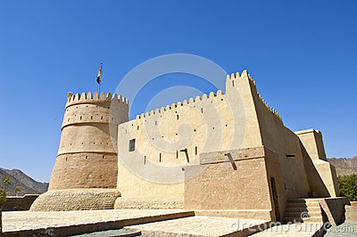 Bithnah Fort in Fujairah United Arab Emirates
