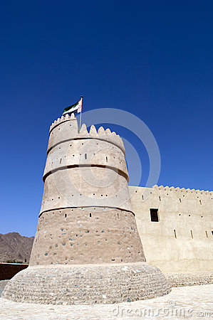 Bithnah Fort i Fujairah United Arab Emirates