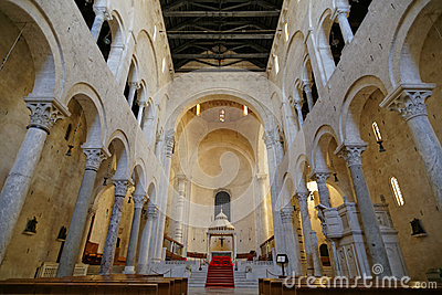 Bitonto church stock photo image 44182774 - Interior design bari ...