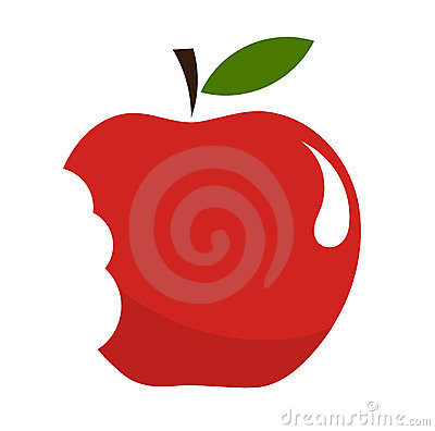 Free Bitten Apple Royalty Free Stock Photos - 23353928