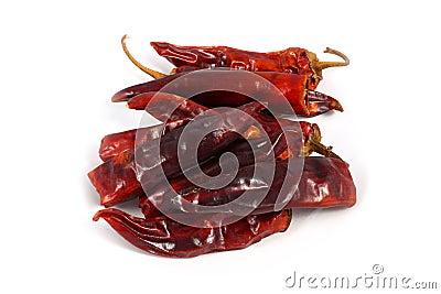 Bitter dried red pepper
