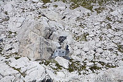 Bivouac under Jalovec peak - Julian alps