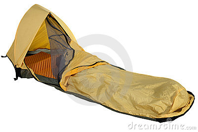 Bivy sack for solo expedition camping