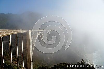 Bixby Bridge California Coast