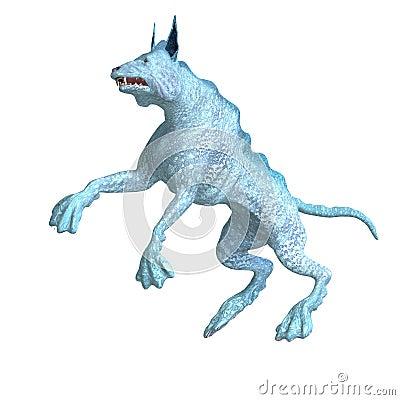 Bizarre alien dog