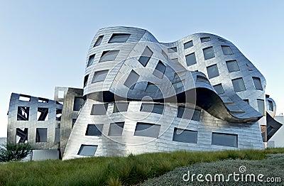 Bizarre architecture in Las Vegas Editorial Stock Image