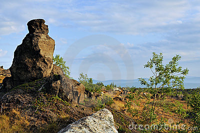 Bizarre Boulder. Stock Photos - Image: 20659813