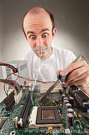 Bizarre electronics