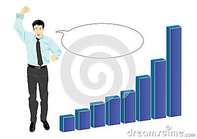 Biznesmen target701_1_ jego sukces