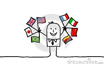 Biznesmena zawody międzynarodowe