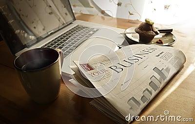 Biznesowa gazeta