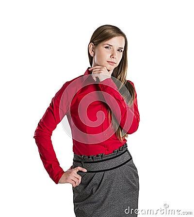 Biznesowa kobieta