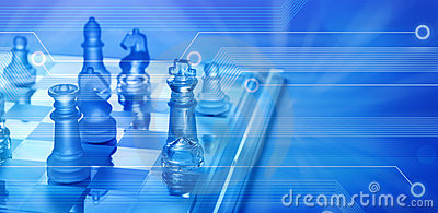 Biznesowa szachowa komputerowa online strategia