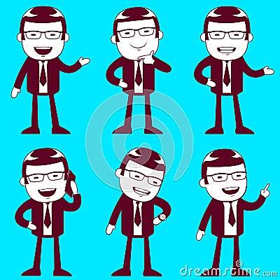 Biznesowi mężczyzna