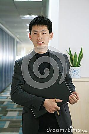 Biznesowy mężczyzna