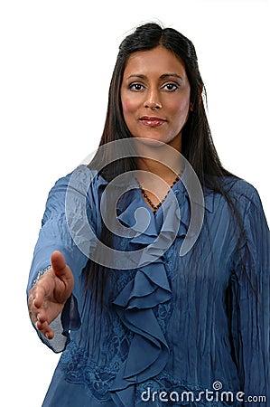 Bizneswomanu hindusa young