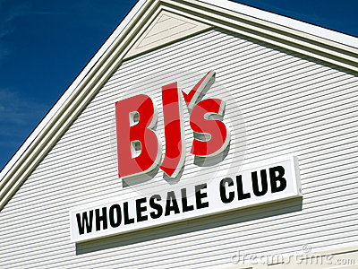 BJ s Wholesale Club Editorial Stock Image