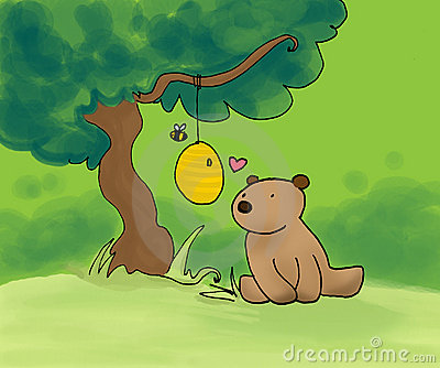 Björnbihonung
