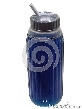 Blå drinkmatsport