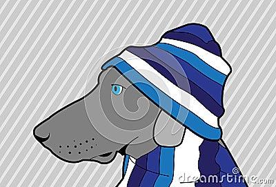 Blå hund