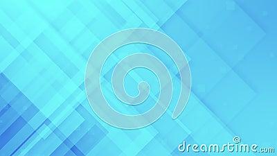 Blå och silvergrå för abstrakt geometriskt ljus - rörelsebakgrundsögla