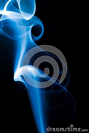 Blå rök