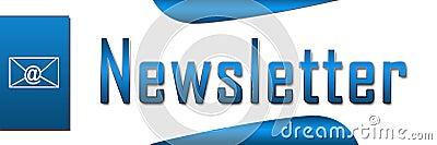 Blått baner för informationsblad