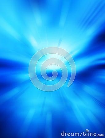 Blått futuristic avstånd för abstrakt bakgrund