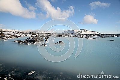 Blå lagun