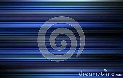 Blå strimma