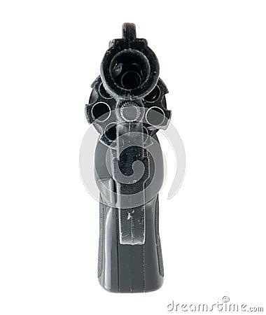 Black 9mm gun