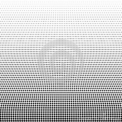 Black Abstract Halftone Design Element, vector Vector Illustration