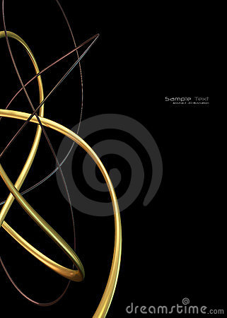 Black abstract technology background