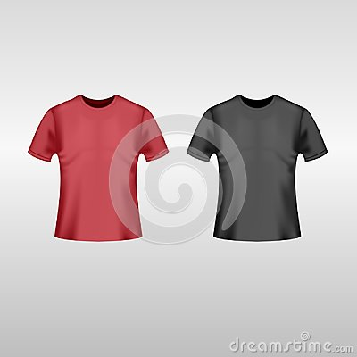 Free Black And Red T-shirt Stock Image - 117768101