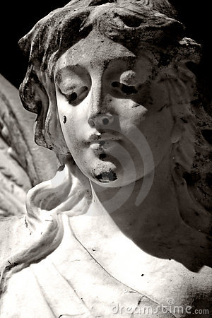Free Black And White Angel Royalty Free Stock Photography - 3201187