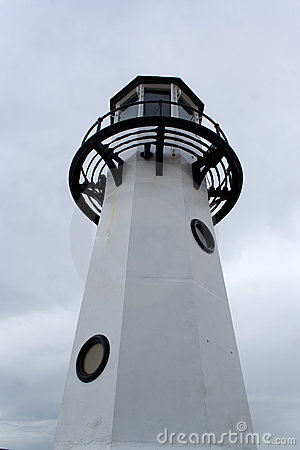 Free Black And White Lighthouse Stock Photography - 3279872