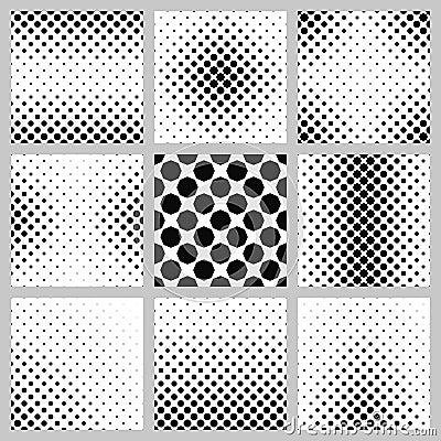 Free Black And White Octagon Pattern Background Set Stock Photo - 114388430